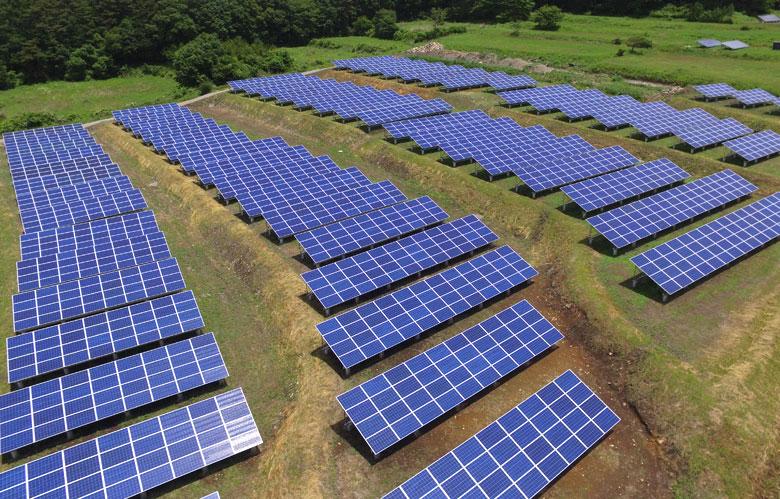 太陽光発電 施工事例